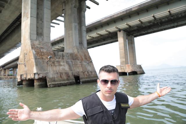 Deputado alerta sobre estado crítico dos blocos de fundação das pontes