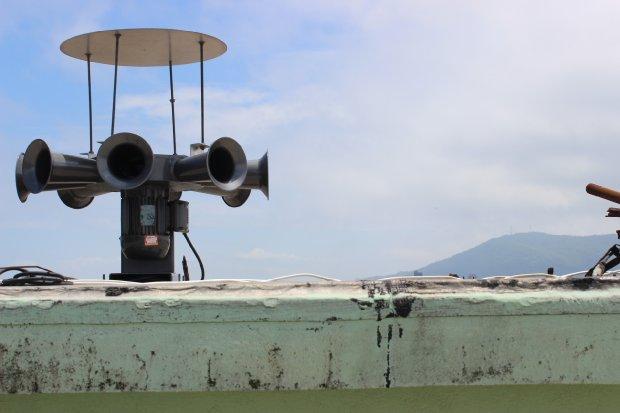 Porto de Imbituba recebe sirene de segurança