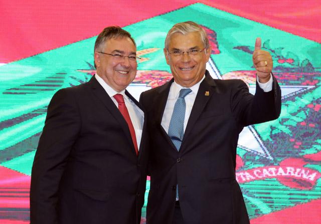 MDB prestigia o retorno da sigla ao comando do Governo de SC