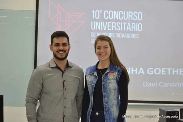 Alunos da Unesc na final do Concurso Universitário