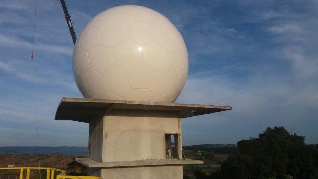 Radar Oeste começa a ser instalado em Chapecó