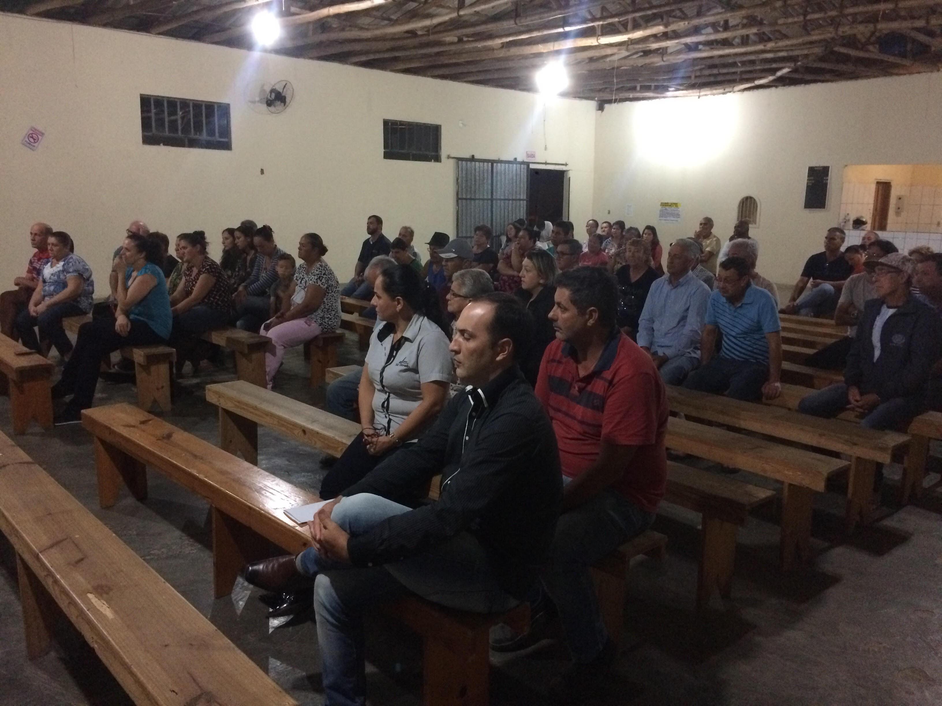 Reunião sobre segurança reuniu mais de 70 pessoas