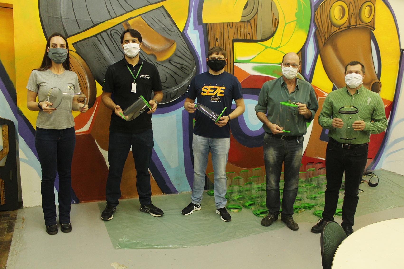 Rio Deserto entrega máscaras de proteção facial para hospitais e secretarias de saúde