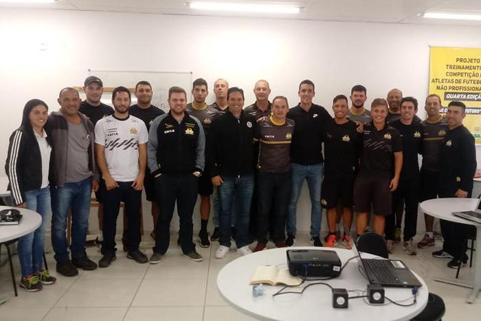 Observação da CBF em atletas da Base do Tigre