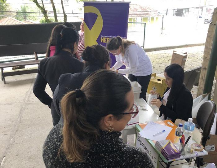 Testes de Hepatite são realizados gratuitamente no HSJosé