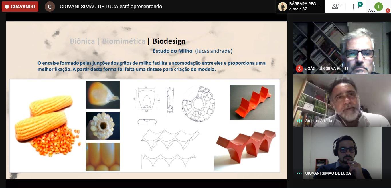 A relação do design com a natureza e as formas é tema de palestra online