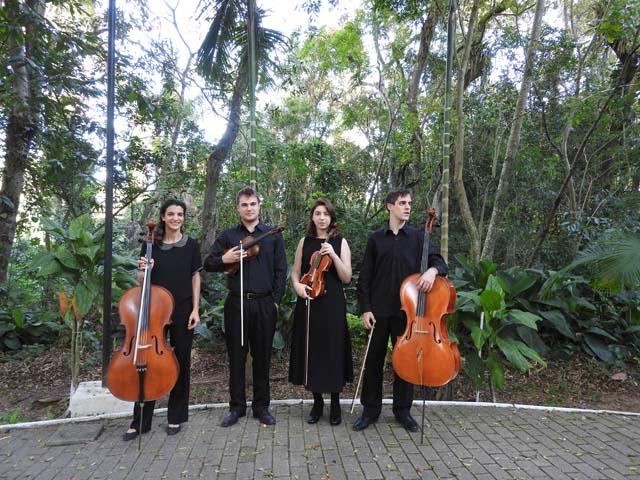 Quarteto de Cordas da Udesc apresentará novo repertório