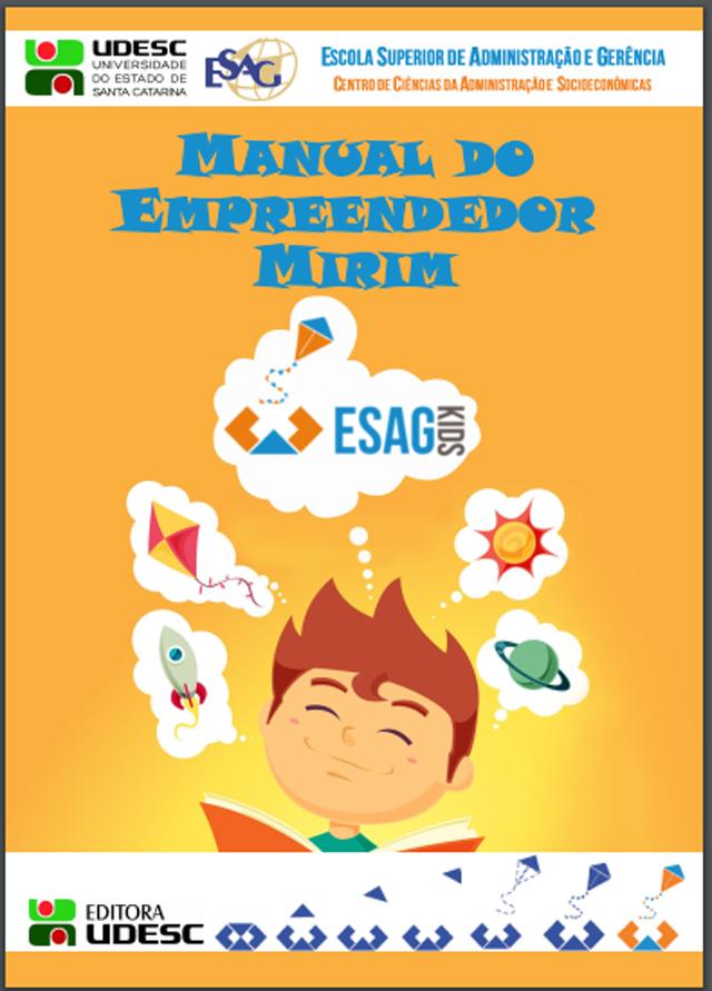 Programa de extensão da Udesc lança nova edição do Manual do Empreendedor Mirim