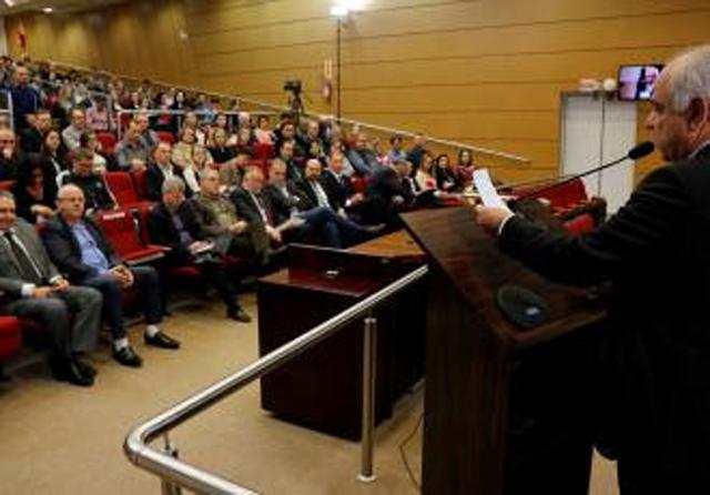 Fórum de controladores internos municipais lota TCE/SC