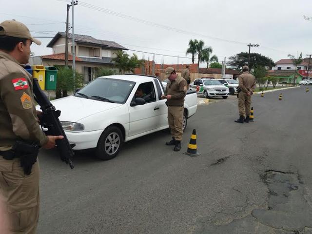 Polícia Militar intensifica policiamento em Maracajá