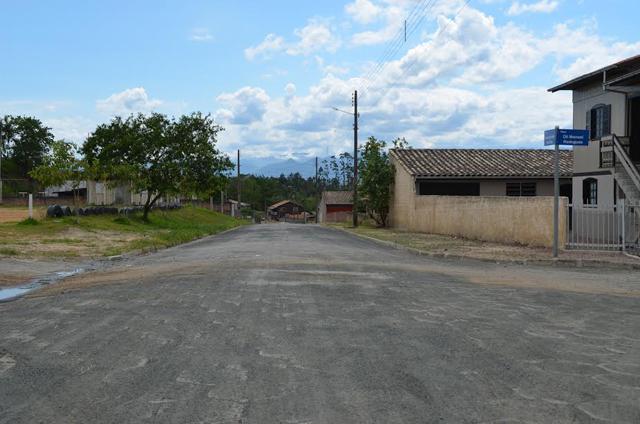 Prefeitura de Siderópolis conclui trabalho em pavimentação