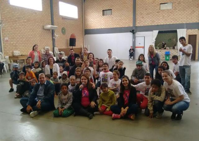 Cras promoveu festa em comemoração ao Dia das Crianças