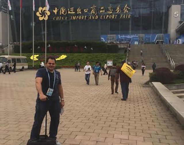 Empresário araranguaense participa da maior feira multissetorial
