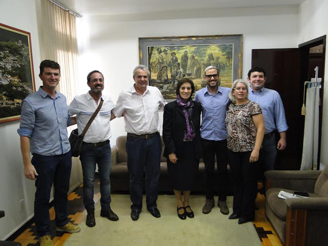 Urussanga recebe visita de apresentadora italiana