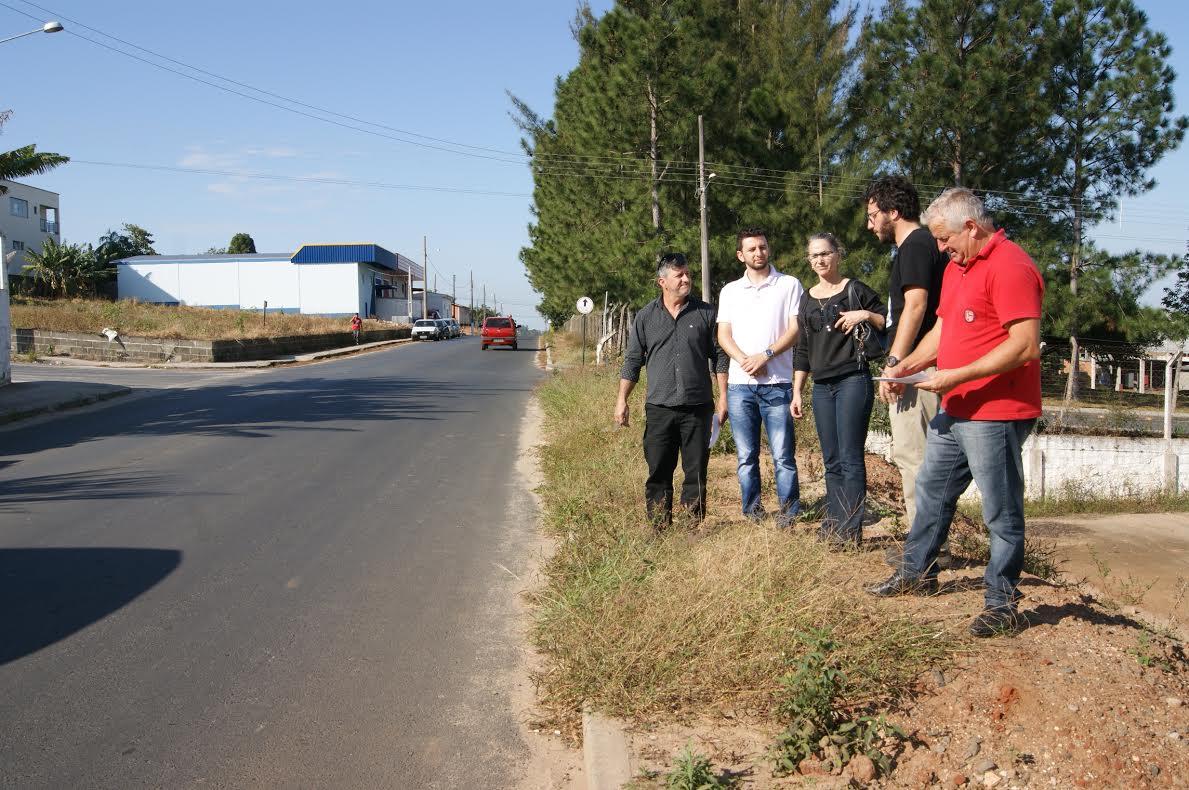 Comissão de Serviços Públicos continua visitando as obras públicas