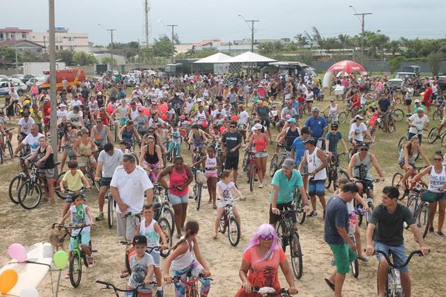 Passeio Ciclístico no Rincão reúne 3.500 participantes