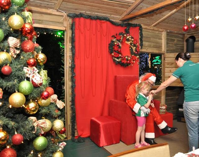 Casa do Papai Noel abre as portas às famílias chapecoenses