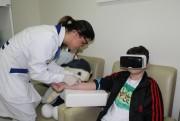 Óculos transformam experiência de coletas e vacinas nas crianças