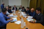 A AMREC recebe deputados para debater prioridades para região