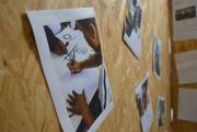 Exposição apresenta trabalhos realizados por alunos do curso de Odontologia em Caps