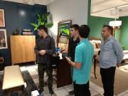Alunos de Design acompanham ambientes de Mostra em Criciúma