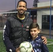 Jovem içarense vai para a academia de futebol do Sporting