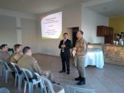 Policiais Militares participam de palestra com o Ministério Público