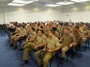 Alunos do Curso de Formação de Soldados participam de evento