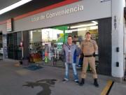 PM segue com consultorias preventivas comerciais em Araranguá