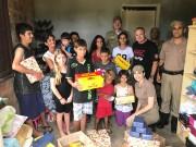 PM de Araranguá entrega mais cestas básicas e presentes