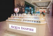 Os produtos da Aqua Inspire estão de volta ao Center Shopping a partir deste sábado