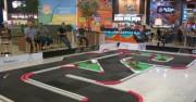 Pista profissional de Mini-Z é instalada no Nações Shopping