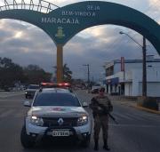 Polícia Militar mantém forte ostensividade em Maracajá