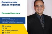 Workshop de oratória acontece na CDL de Criciúma