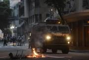 Confronto no Rio deixa sete feridos e agências bancárias incendiadas