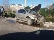 Motorista colide em mureta de proteção na BR-101