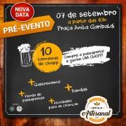 Após o desfile cívico, pré-evento do Festival da Cerveja Artesanal mantém movimentado o centro de Urussanga