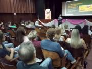 Professores participam de palestra sobre educação financeira