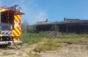 Galpão de secagem de fumo é atingido por incêndio