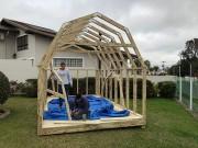 Empresa apresenta construção de unidades habitacionais em série