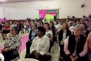 Mulheres lotam evento de abertura do Outubro Rosa em Siderópolis