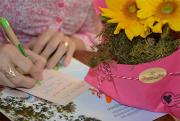 As cartas e flores que levam amor