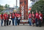 Colaboradores da Unesc se unem em campanha para salvar vidas