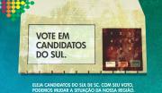 """Satc apoia campanha """"Do Sul pelo Sul"""" para o voto regional"""