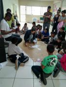 Teatro do SCFV CRAS Renascer leva aula de cidadania para o Serviço de Convivência do Cristo Redentor