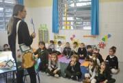 Sacola literária estimula boas ações no Infantil Satc