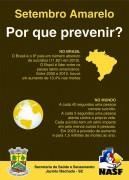 Saúde de Jacinto Machado promove palestra sobre a importância da prevenção do suicídio
