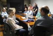 Professora polonesa realiza visita no Unibave