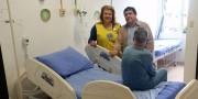 Lions Clube de Içara requalifica leito no Hospital São Donato