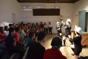 """SESC Criciúma recebe o espetáculo """"Metropol - Carvão, Ópio e Futebol"""""""